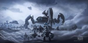 Concept Art Covenant Invasion by ThelVoramee