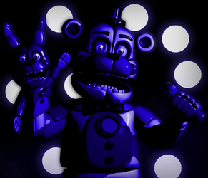 C4d | Funtime Freddy - Poster by The-Smileyy