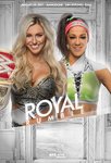 Charlotte (C) vs Bayley Royal Rumble by GFXWWE