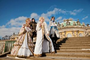 Versailles Photoshooting 1 by Etienne-Magique