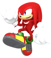 Jumping at you Knuckles edition by JaysonJeanChannel