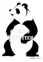 Happy Panda I by RHPotter