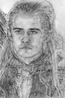 Legolas, The Lord of the Rings by LittleDragonZ