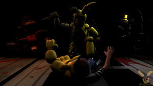 (FNaF SFM) No regret by Fer-Ge