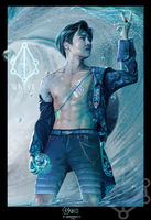 EXOplanet - Suho (WATER) by emmagucci