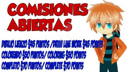 Comisiones abiertas. Commisions open by andyDhk
