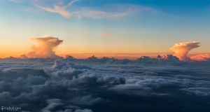 Two cloud pillars by CyclicalCore