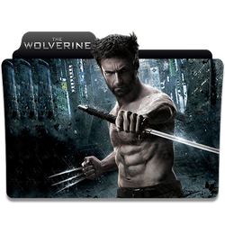 The Wolverine folder icon by jithinjohny