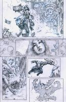 SanEspina Wanted page2 pencils by santiagocomics