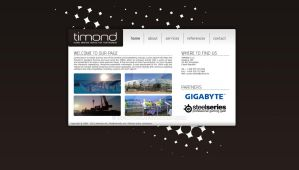Timond - webdesign a logo by Ingnition