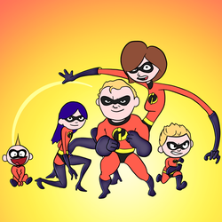 The Incredibles by bwritter
