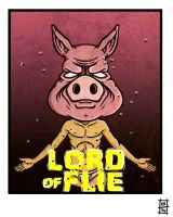 Lord of Flie by BrainBlueArts