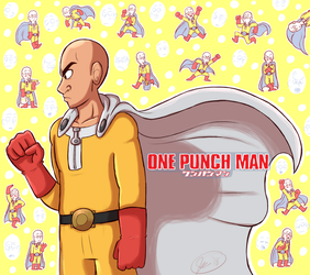 One-Punch Man by KuppaJo