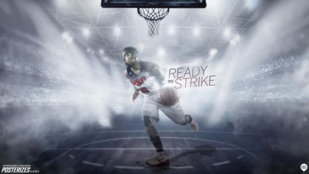 Kyrie Irving Team USA Wallpaper by IshaanMishra