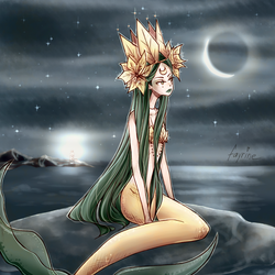 Mermaid queen by fayrine