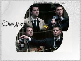 Dean and cas by tru4ever
