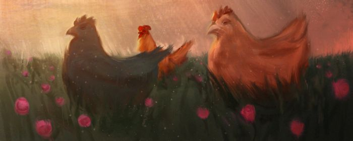 Field Chickens by BrianKellum