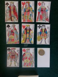 1816 French playing cards by Iagoba-F