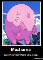 Musharna Motivational Poster