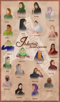 Islamic Headscaves by ArsalanKhanArtist