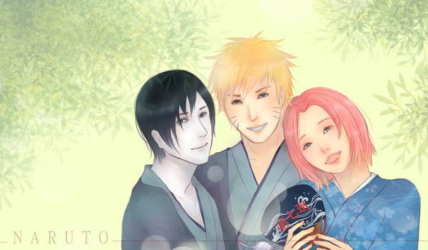Naruto: Team 7 by sheepsgobaaa