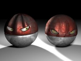 Two Realistic Voltorb