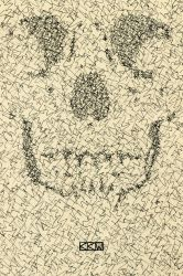 Scribble Skull by Crigger