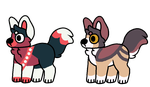 10 point dog adopts! (OPEN) by Telap