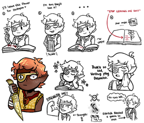 [DnD]: Sintran Doodles 1 by SimplyDefault