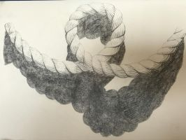 rope drawing by Scott-A-T-art