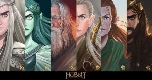 FanArt : The Hobbit ( Darkside ) by ZyrexTheZ