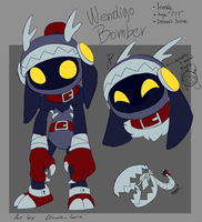 Wendigo Bomber by Clown-Grin