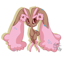 Shiny Lopunny by Espeonizzle