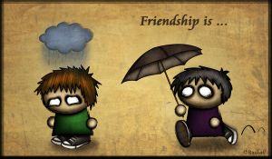 Friendship is... by Razkall