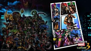 UMvC3 PS3 Wallpaper 1 by TheALVINtaker