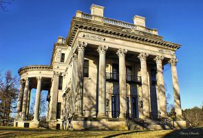 Vanderbilt Mansion West View by E-Davila-Photography
