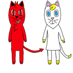 Devil And Angel Cat Adopt  by ILoveMyCat456