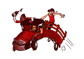 TF2 JoyRide by monkeyoo