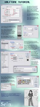 Halftone Tutorial by onelover