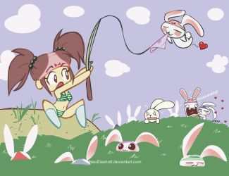 Bunny Fishing by NeoSlashott