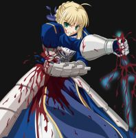 Blood of Saber by wasgoed