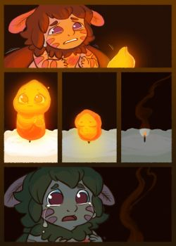 Moth and the Flame 13 by StressedJenny