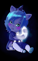Baby Luna Loves the Moon by Puffleduck
