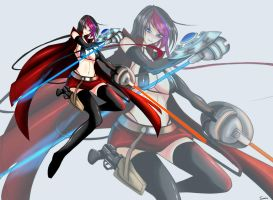 LOL Fiora The sith lords by TorahimeMax
