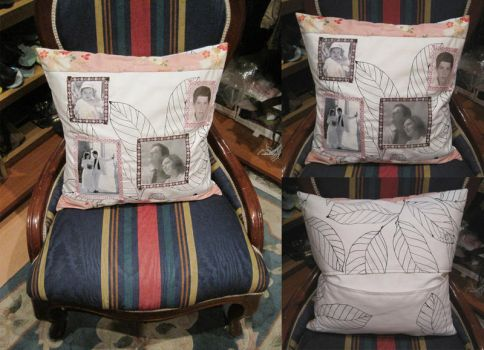 26th Aniversary Pillow by Sompy-Stuff