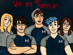 We are Teamiplier by Disneyamoo