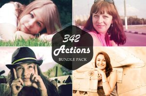 342 Life Saver Photoshop Actions Bundle by symufa
