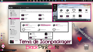 BlackPink Cute (Iconpackager) by ChrissQuintanilla