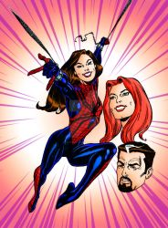 Happy 20th Anniversary, MAYDAY PARKER | Colourised by Cotterill23