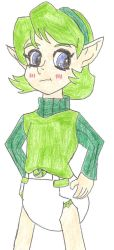 Saria Padded COLORED by MagicalGirlMoemura